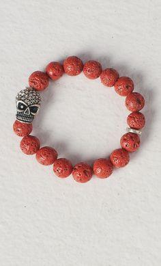 #skull #bracelet on www.shoppublik.com