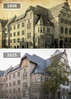 Rudolstadt Marktstraße 54 Amtsgericht, Germany, 1906 - 2015