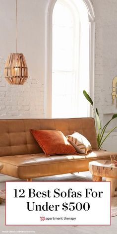 A sofa under $500? Yes, it is possible. So, if you've been craving a living room refresh, now is an ideal time to finally commit to purchasing a cheap, comfortable couch. #sofas #livingroomsofas #sofadeals #cheapsofa #smallsofa #loveseat #comfortablesofa #cheapcouch #livingroomideas #livingroomdecor