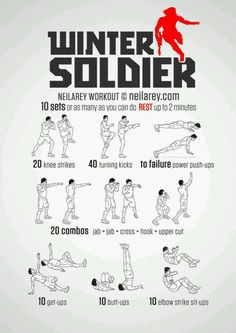 Winter Solider Workout