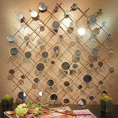 металлическая стенка искусство декора стен, абстрактный Flexify декор стен – RUB p. 4 016,81