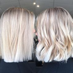 Long Blunt Bob Hairstyles Yes I love the choppy look 50 Amazing Blunt Bob Hairstyles You'd Love to Try – Bob Haircuts 2019 40 Images of Amazing Short Blonde Hair Balayage Blonde Hair Inspo nice Balayage Blonde Hair Inspo medianet_width = medianet_height Balayage Hair Blonde, Ombre Hair, Blonde Curls, Medium Hair Styles, Short Hair Styles, Hair Medium, Blunt Bob Hairstyles, Blonde Hairstyles, Short Blonde Haircuts