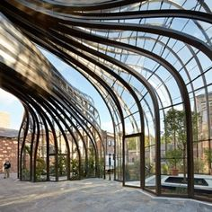 Thomas Heatherwick's Bombay Sapphire distillery photographed by Hufton + Crow