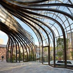 Thomas Heatherwick's Bombay Sapphire  distillery photographed by Hufton + Crow