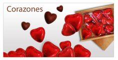 Corazones de chocolate para su amor! No pierdas tiempo y ¡sorpresa! http://www.mysweets4u.com/es/?o=2,5,44,45,0,0