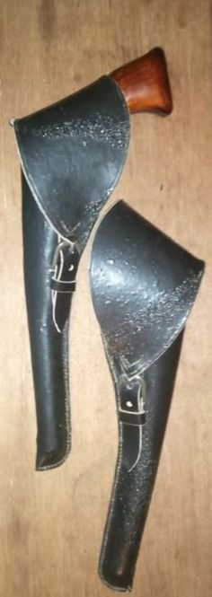 1847 Colt Walker Revolver & two holsters