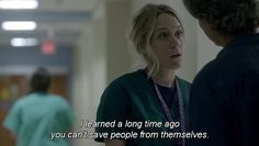 You can't save people from themselves.