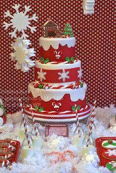 Il Goloso Mondo di Minu': Christmas Sweet Table