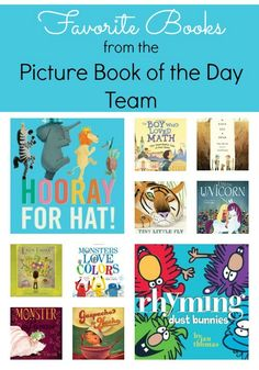 20 great bloggers share their favorite books for kids they shared from the past year.  Lots of great picture book ideas!