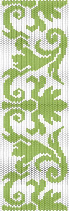peyote beadwork pattern