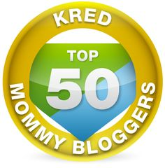 Top 50 Mom Blogs by Kred-