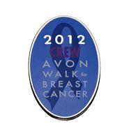 Avon Walk 2012 Crew Pin