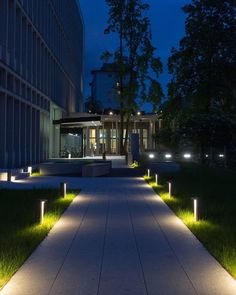 Being kept in the dark is never fun - especially when it comes to your way home. That's why we enlist the help of bollard lights like EDGE. Bollard Lighting, Pathway Lighting, Home Lighting, Outdoor Lighting, Landscape Lighting Design, Landscape Architecture Design, Architecture Details, Futuristic Bedroom, Outdoor Patio Designs