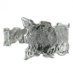 Sterling Silver Wavy Wrap Bracelet