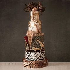 Adorable African Wedding Cake Ideas That You Will Love For Your Inspirations - How to plan an African Inspired Wedding on a Budget Many African American couples like the idea of incorporating their heritage into their wedding nup. African Wedding Cakes, African Wedding Theme, Big Wedding Cakes, Wedding Cake Designs, African Weddings, Wedding Ideas, Traditional Wedding Decor, African Traditional Wedding, Themed Birthday Cakes
