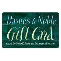 BARNES AND NOBLE GIFT CARD!