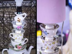 DIY Teapot Lamp | Try making this really cute and amazing lamp. #DiyReady www.diyready.com