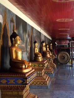 Buddhas at Wat Phra That Doi Suthep, Chiang Mai, Thailand