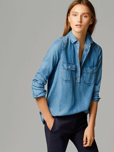DENIM SHIRT - View all - Shirts & Blouses - WOMEN - United States
