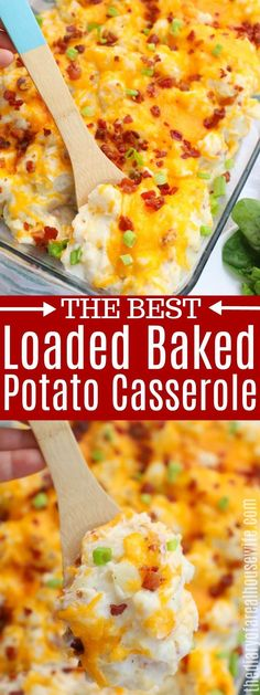 Loaded Baked Potato Casserole - The Diary of a Real Housewife