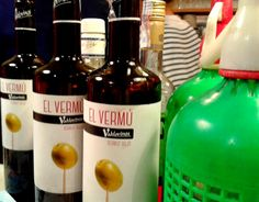 La Vermutería pop-up in Madrid - pinned from Oh hello, Spain