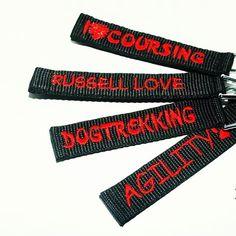 Přívěsky Blackberry | Key rings by Blackberry #coursing #russell #dogtrekking #agility #love #red #klicenka #cervena #blackberry