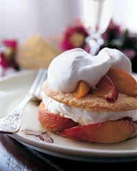 Roasted Peach Pies with Cream.  OMG - look at this interesting twist on a summer pie!  Thank you Food and Wine.