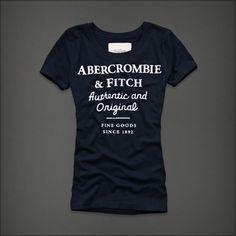 Abercrombie   Fitch · Camisas De T Para Mulheres d67cfeb52395c