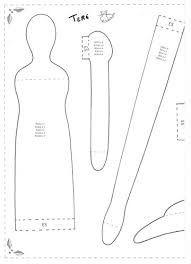 molde de boneca de pano para imprimir - Pesquisa Google