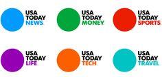 USAToday Logo and Newspaper