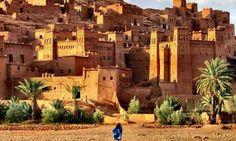 Kasbah Ait Ben Haddou Palms Morocco 10