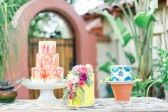 Colorful Fiesta Wedding Inspiration | Lauren Buman Photography | Bloom & Blueprint Event Co. | Reverie Gallery Wedding Blog