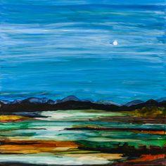 Moonlit Lake limited edition fine art print. by SchadStudio, $45.00
