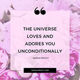 Remember: TRUST that the Universe loves you unconditionally and adores who you are. xo ------ #love #trust #Universe #inspiration 💕