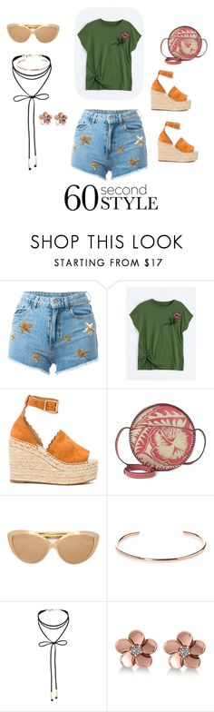 """60 second style concert wear"" by canaryarrow ❤ liked on Polyvore featuring Chiara Ferragni, Chloé, Patricia Nash, Linda Farrow, A.V. Max, Miss Selfridge, Allurez, 60secondstyle and outdoorconcerts"