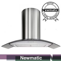 Built-In Kitchen Appliances ; ovens, hobs, microwave, dishwasher, kitchen extractor and many more from Newmatic. Kitchen Hood Design, Kitchen Hoods, Buy Kitchen, Modern Kitchen Design, Kitchen Sink, Island Extractor Hoods, Kitchen Extractor Hood, Built In Kitchen Appliances, Modern Kitchen Cabinets