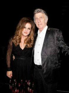 Lisa Marie and J.D. Fontana (Elvis' drummer in the 50s).