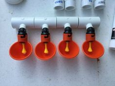 PVC Chicken Waterer: An easy way to keep your flock watered and not have a mess with overturned water containers! Backyard Chicken Coop Plans, Building A Chicken Coop, Diy Chicken Coop, Chickens Backyard, Water Feeder For Chickens, Backyard Fences, Pvc Chicken Waterer, Chicken Feeders, Chicken Pen