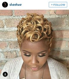 Luna 019 Affordable Short Curly African American Wig without Bangs – Luna Wigs Short Sassy Hair, Short Curls, Short Hair Wigs, Long Hair, My Hairstyle, Wig Hairstyles, Black Hairstyles, Teenage Hairstyles, Fashion Hairstyles