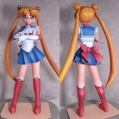 Sailor Moon Paper Model   Tektonten Papercraft
