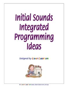 Initial Sounds Integrated Program Ebook PDF file46 page, Ebook.Initial/Single Sounds Programming IdeasTeaching initials sounds or have ...
