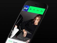 Spesh Mobile Slider by BASOV DESIGN