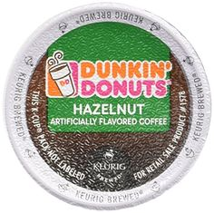 Dunkin Donuts Coffee K Cups 12 Ct  2 Pack 24 Ct for Keurig Brewers Hazelnut ** Click affiliate link Amazon.com on image for more details.