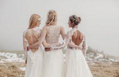 Sármán Nóra shared by Veronika Szabó on We Heart It Designer Wedding Dresses, Wedding Gowns, Norwegian Wedding, Beautiful Bridal Dresses, Jpg, Bridal Collection, Bridal Style, Wedding Styles, Flower Girl Dresses