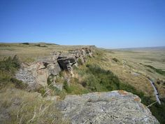 Head-Smashed-In Buffalo Jump #GILOVEALBERTA