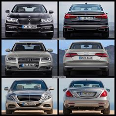 image of Bild Vergleich BMW 7er 750Li G12 Audi A8 L W12 Mercedes S Klasse S600 2015 05 120x120