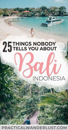 bali honeymoon Whether youre visiting Ubud or backpacking the Gilli islands, there will be some surprises. Heres what nobody tells you about backpacking Bali, Indonesia, one of the most popular travel destinations in Southeast Asia. Cool Places To Visit, Places To Travel, Travel Destinations, Wedding Destinations, Bali Travel Guide, Asia Travel, Travel Tips, Travel To Bali, Travel Hacks