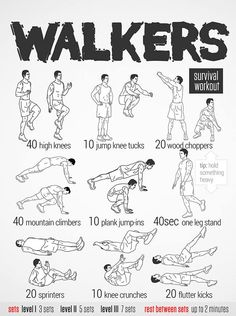 Scott Adkins exercises for walkers