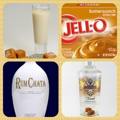 Butterscotch cream instant pudding ¾ Cup Milk Cup Rumchata Cup Caramel vodka tub Cool Whip Directions Whisk together the milk, liquor, and instant pudding mix in a bowl until combined. Add cool w (cool drinks cups) Rumchata Pudding Shots, Jello Pudding Shots, Jello Shots, Pudding Cup, Cocktail Drinks, Fun Drinks, Yummy Drinks, Alcoholic Drinks, Cocktails