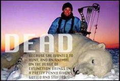 killing animals - endangered species